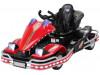 Elektroauto Go Kart Dooma für Kinder, elektrisch-Red