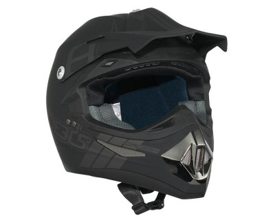 Helm SPEEDS Cross II schwarz soft-touch Größe XL