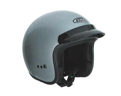 Helm SPEEDS Jet Classic silber glänzend Größe XS