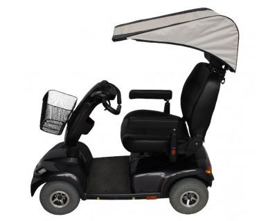 Wetterschutz, Regenschutz für E-Mobile, Senioren-Fahrzeuge, Mobilitätshilfen MODULO SUN