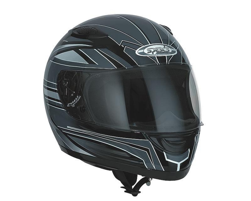 Helm SPEEDS Integral Evolution II Graphic silber Größe S