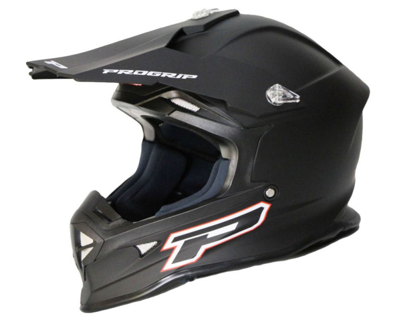 MX Helm PROGRIP 3190 MATT schwarz