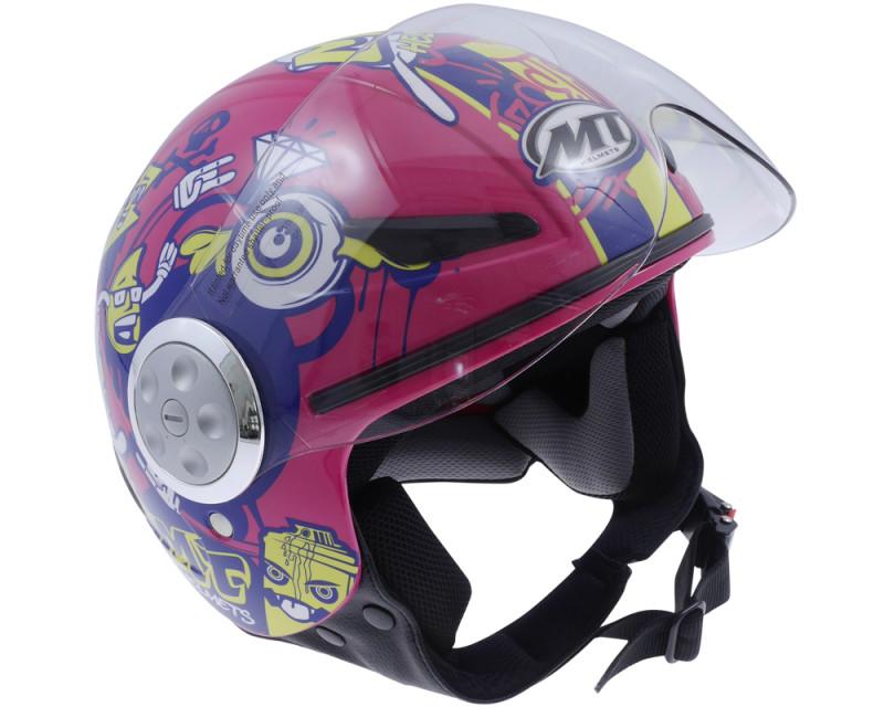 Helm MTHELMETS UrbanKids Skateboard pink