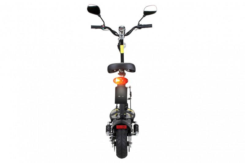 E-Scooter - Street 20, 20km/h, mit Straßenzulassung, Schwarz|Weiss|Orange