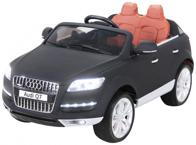 Audi Q7 SUV für Kinder, elektrisch, lizenziert-Black