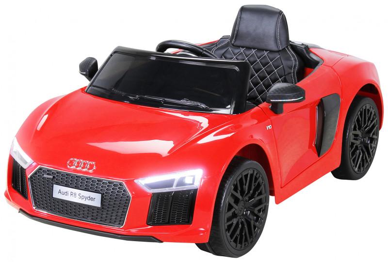 Audi R8 Spyder für Kinder, elektrisch, lizenziert (2018)-Red