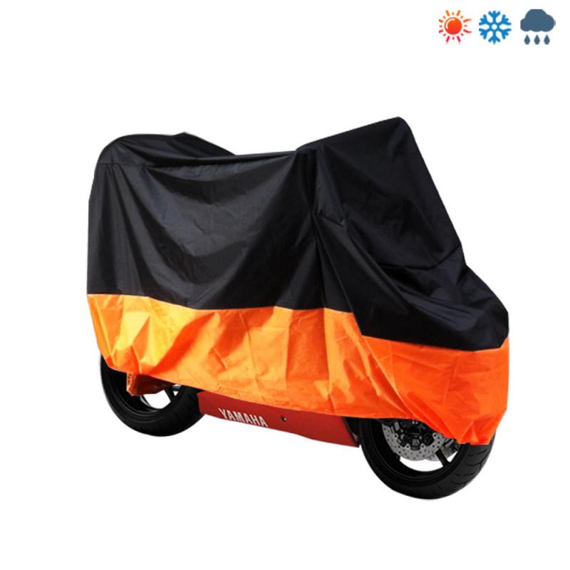 Abdeckplane Ganzgarage Faltgarage Rollerabdeckung XL orange