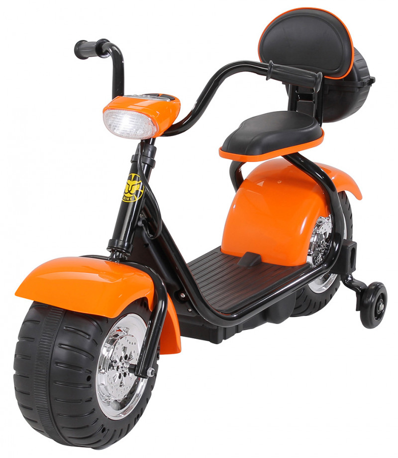 Elektromotorrad Flash Mini, für Kinder-Orange