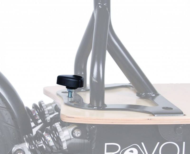 Sattelschraube für Revoluzzer & Revoluzzi