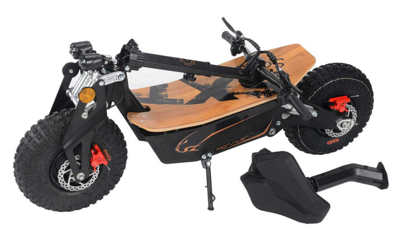 MONSTER - Offroad Electro Scooter, XXL Reifen, 48V, 2000W