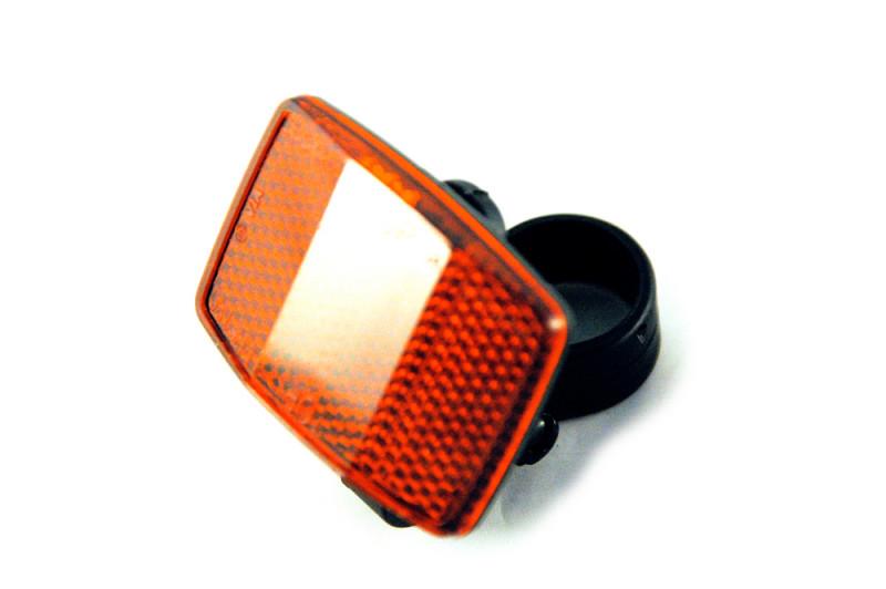 Lichreflektor, hinten, für Sattelstange, Maximilian 2