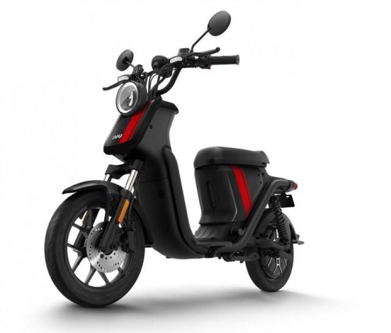 NIU U-Pro, 45 km/h, schwarz