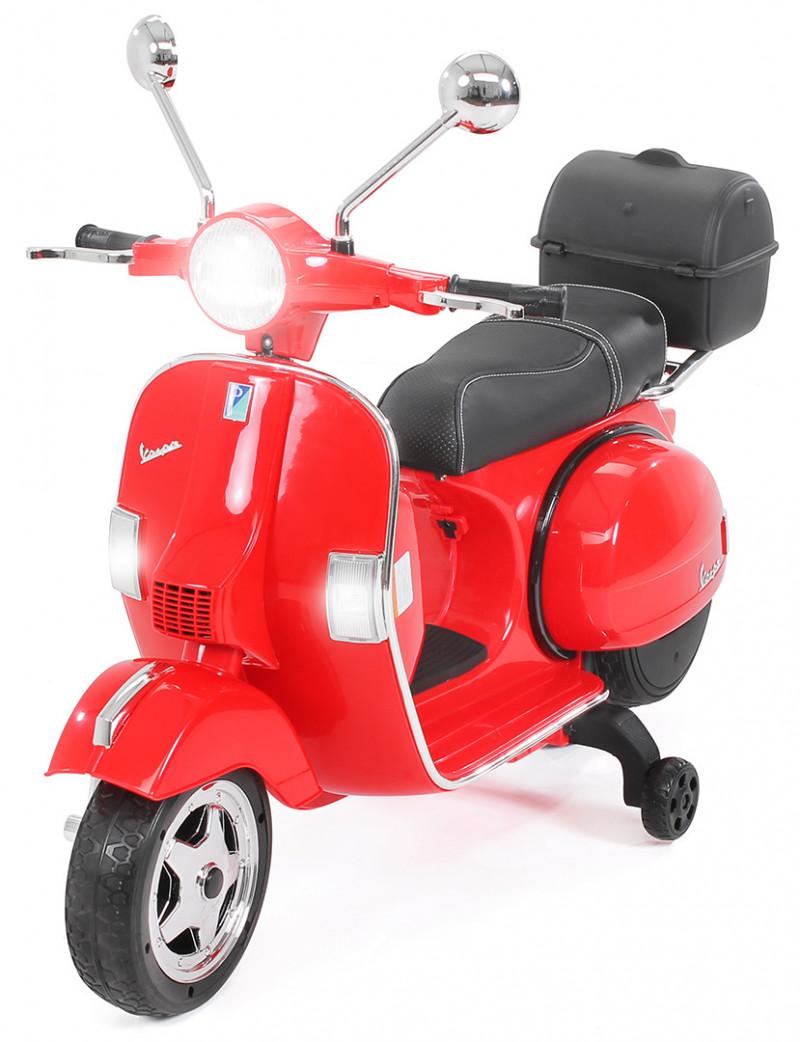 Elektroroller Vespa, für Kinder-Red