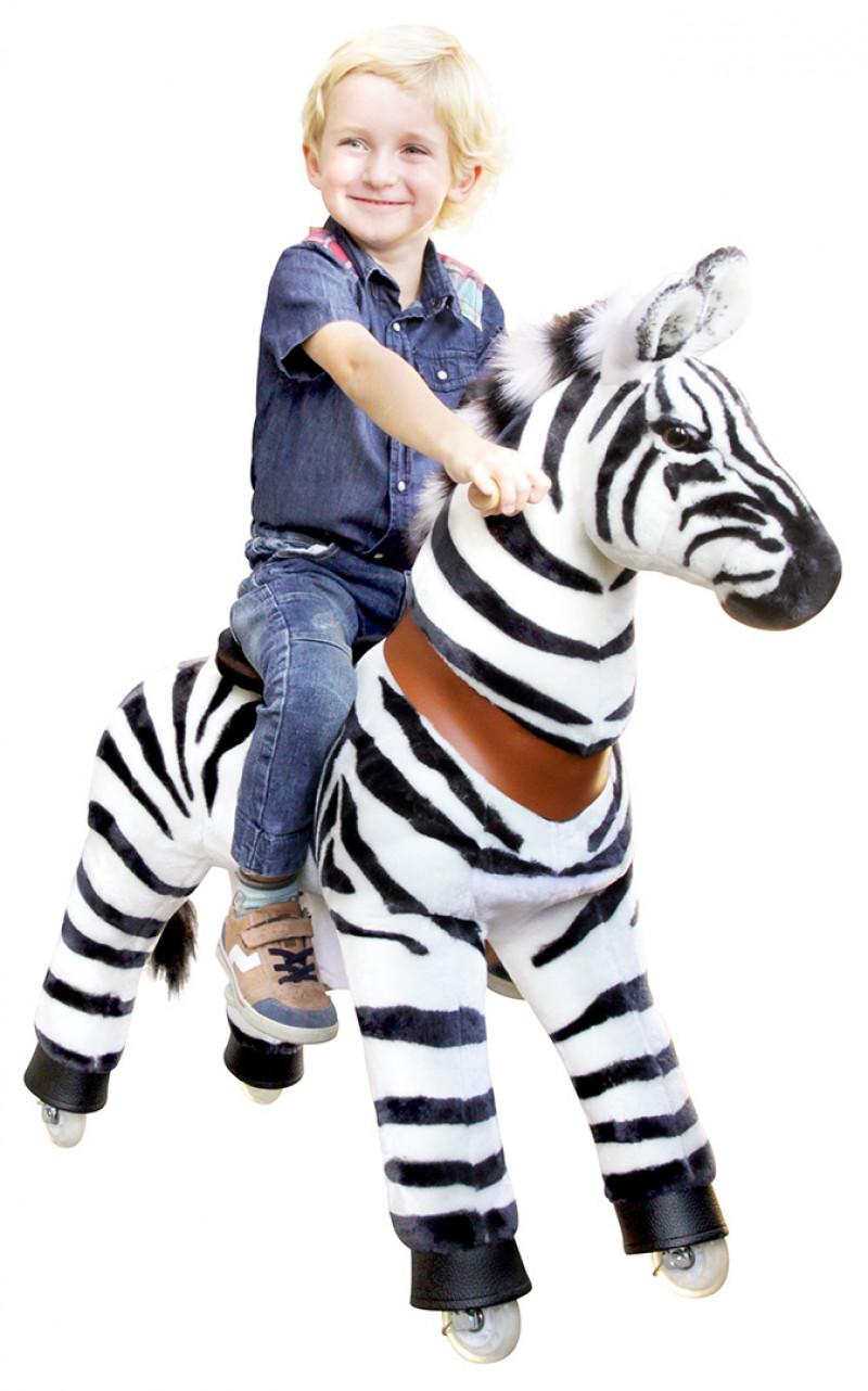 """Zebra """"Marty"""" -4-9 years"""